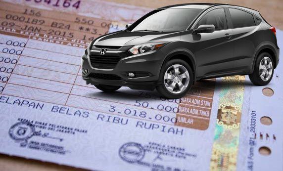 Daftar Biaya Pajak Honda Hrv Semua Tahun Id Zottac Com