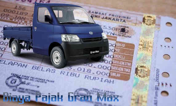 Daftar Biaya Pajak Daihatsu Gran Max Id Zottac Com
