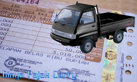 biaya pajak suzuki carry